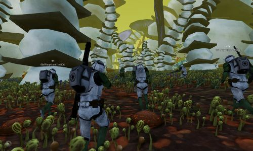 "Coop Star Wars ""Clones Wars on Felucia"""