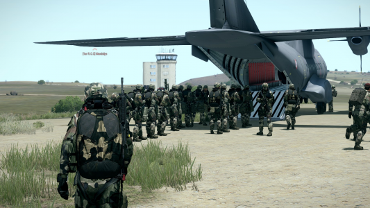 1er R.C.C Coop Into Hell  27 Players - Embarquement En Transal !