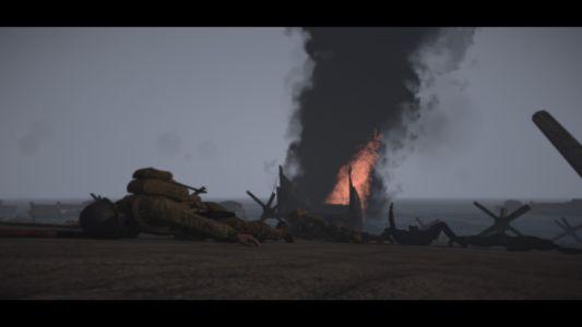 1er R.C.C Coop WW2 - DDAY ! (2)