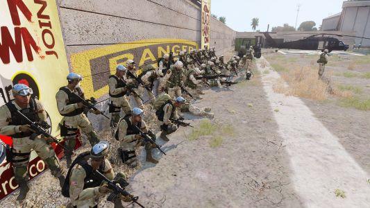 1er RCC Joint Ops Blackhawk Down 57 Joueurs - Photo De Famille Avec Les VF&CDO-AIR-IBC-SPG-UNCP&FE 2