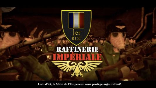 1er R.c.c Coop W40k - Raffinerie Impériale
