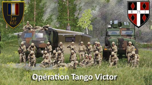 Coop InterTeam 75e RI & 1er R.C.C - Opération Tango Victor !