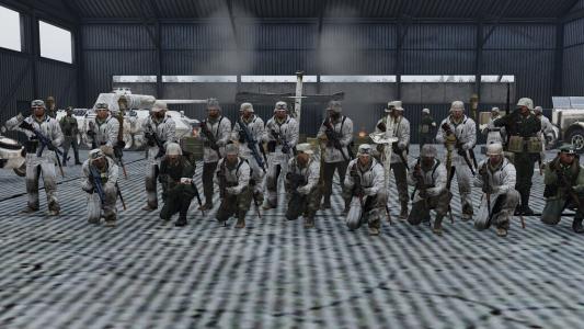 Coop WW2 - Opération Liouban - Le 1er R.C.C Avant De Partir Au Combat ! (05-12-2020)
