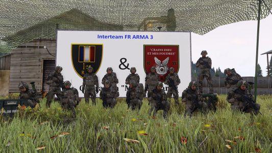 InterTeam Avec Le 351e R.I.M, Opération Mike Radar