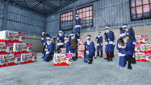 Joint Ops Multiclan - Recue Red Santa 2020 - The Kinder Eggs Party ! (1RCC, AIR, UNCP, IBC, SG)